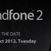 Asus pour lancer le Padfone 2 le 16 Octobre