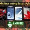 Meilleurs smartphones Android de l'automne 2012