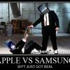 Samsung se moque utilisateurs iOS dans leur dernière annonce