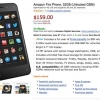 Offre: Amazon incendie Téléphone actualisée à juste 159 $ aujourd'hui, comprend en année pleine de Premier