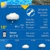 Télécharger WeatherPro application à partir du Play Store Avec Widget Et Live Wallpaper Pour seulement 10 cents