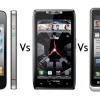 Droid Bionic vs iPhone 4S vs Droid Razr