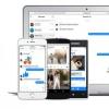 Facebook lance Messenger comme un site Web autonome