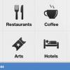 Facebook prendre sur Foursquare avec fonction à proximité