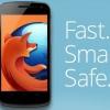 """Fanatiques de Firefox: """"quelque chose de GRAND est sur votre route la semaine prochaine"""". Sur Android"""