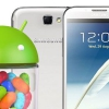 Galaxy Note 2 LTE Android 4.1.2 mise à jour Jelly Bean obtient fuite