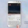 Galaxy Note 2 NL100XXALJ1 de mise à jour du firmware permet fonctionnalité multi-fenêtre