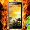 Plus mince smartphone du monde, le Huawei P6-U06, montré dans la version noire de nouvelles photos
