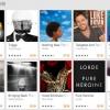Google proposant près de 100 albums à prix réduit pour la vente sur Google Play de fin d'année