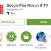 Google Play Films & TV App rejoint 1 milliard Installe club