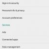 Services Google Play v7.8.87 Début déploie avec le support de l'API à proximité et un nouveau compte Gestion Liens [Télécharger APK]