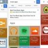 Google polit résultats de la recherche de l'application avec une nouvelle interface utilisateur