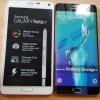 Voici un regard sur une unité factice Galaxy S6 bord plus