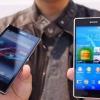 Sony Xperia Z2 vs Xperia Z1: comparaison de l'affichage (MWC 2014)