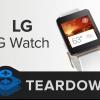 LG G Watch et Samsung engrenages démontages Live Show grande réparabilité