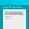 LTE-équipée Nexus 7 2013 (Razorg) Obtient enfin, la mise Android 5.1