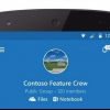 Microsoft lance la version Android de groupes Outlook, un compagnon de bureau 2016
