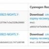 Moto G 3ème génération (Osprey) Obtient soutien CyanogenMod Nightly