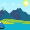 Nouveau live wallpaper gratuit inspiré par les montagnes de Google Maintenant