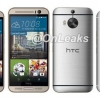 Nouveau HTC One M9 + maquette montre le téléphone par rapport à celui M9