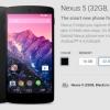 Nexus 5, 1st Gen Chromebook Pixel plus disponible pour la vente sur Google Play [Mise à jour]