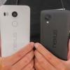 Nexus 5X vs Nexus 5 - coup d'oeil