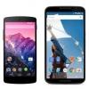 Nexus 6 Nexus vs 5: premier aperçu