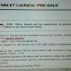 Office Depot Nexus 7 lancement fixée au 12 Juillet?