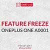 """OnePlus One One a atteint """"gel des fonctionnalités"""" stade de développement, prototype en test"""