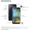 Samsung annonce Galaxy E5 et E7 Smartphones Galaxy pour le marché indien