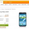 Samsung Galaxy Note 2 pages pré-commande sur AT & T et Verizon sont en hausse