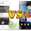 Samsung Galaxy S2 vs iPhone 4S
