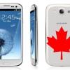 Samsung Galaxy S3 est enfin disponible au Canada, les transporteurs ayant encore des problèmes avec offre et la demande