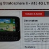 Samsung Stratosphere 2 et LG Spectrum 2 en direction de Verizon