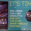Sony Xperia Z1 (Honami) peut venir avec smartwatch gratuitement dans certains marchés