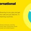 Sprint valeur internationale itinérance se développe pour la Colombie, le Danemark, le Honduras, l'Irlande, l'Italie, le Paraguay et la Suède