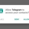 Telegram mis à jour V3.2.3 guimauve Améliorations