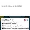 Chat Touchless permet d'envoyer et répondre aux messages sur Hangouts, WhatsApp, Facebook, télégramme et plus en utilisant votre voix