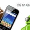 Améliorez votre Samsung Galaxy Gio S5660 GT-à Ice Cream Sandwich via CyanogenMod 9