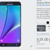 AT & T, Verizon, Sprint, T-Mobile et US Cellular annoncent des plans pour le Galaxy S6 bord + Et Galaxy Note 5, Best Buy offre à 200 $ Trade-In