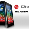 """Rogers Canada horaires de mise à jour Motorola Razr HD Jelly Bean pour """"la fin de Décembre"""""""
