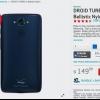 Vous pouvez maintenant acheter le DROID Turbo bleu saphir nylon balistique de Verizon