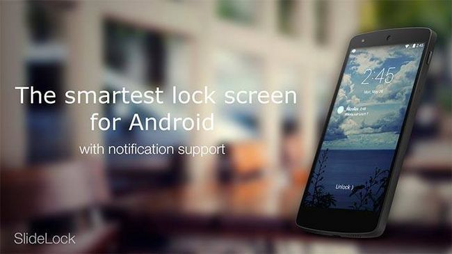 verrouillage application android