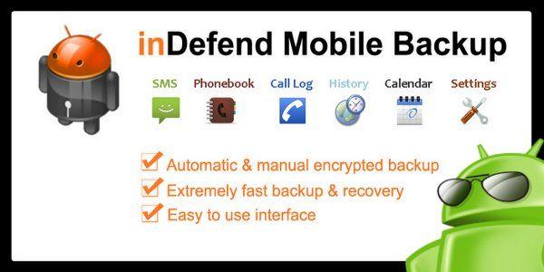indefend mobile backup apk