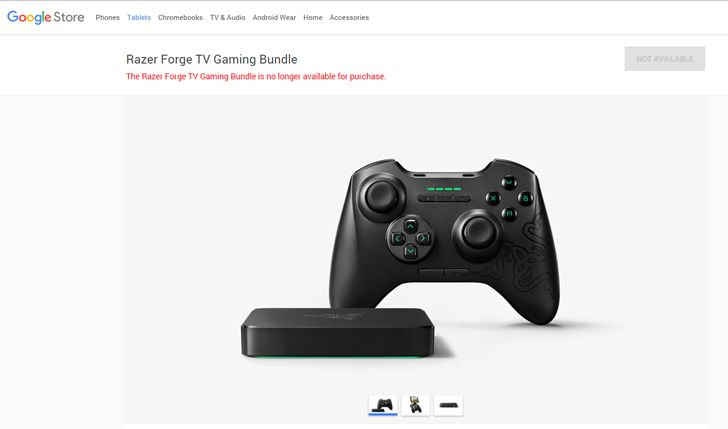 Fotografía - Forge TV Set-Top Box de Razer fait une sortie Ignominious De La Boutique Google